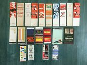 Vintage Set Of Matchboxes Italy 21 Pcs. Old Matches Boxes Fiammiferi Collection