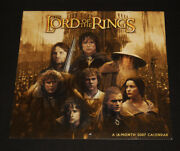 The Lord Of The Rings - A 16-month 2007 Calendar