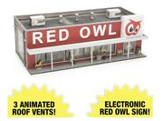 ✅menards Red Owl Grocery Store City Building Accessory O Gauge Scale Train