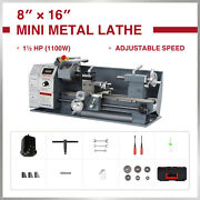 Preenex 8x16 Metal And Woodworking Mini Lathe With Brushless Motor 1100w 2250rpm