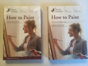 How To Paint Great Courses 4 Dvd Transcript And Guide Book Brand New Sealed