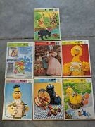 Vintage Golden Frame Tray Puzzle Sesame Street Whinnie The Pooh Wizard Of Oz