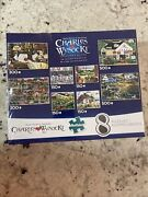 New Charles Wysocki Collectors Edition 8 Puzzles 150-500 Pieces Each New Sealed