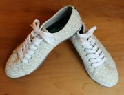 Nautica Lanyard Anchor Canvas Tennis Boat Sneakers Shoes Womens 8 Brand New