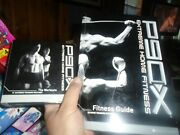 P90x Extreme Home Fitness Dvd Set 12 Discs Only 10 Missing 2 Plus Book