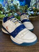 9 Adidas Ts Gilbert Arenas Team Signature 061790 Us Size Red, White And Blue Vtg