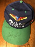 Vintage Nascar Bellsouth Racing 42 Signed By Kenny Irwin Autographed Hat Cap