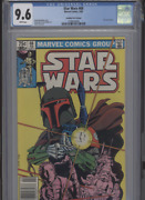 Star Wars 68 Nm 9.6 Cgc Rare Canadian Price Variant White Pages Day Art And Cov