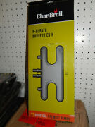 Char-broil Universal H Style Gas Grill Burner Stainless Steel Char-broil 6254