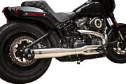 Sands Superstreet 2-into-1 Exhaust System Chrome 550-0791b Harley Davidson
