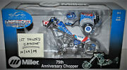 110 Scale Occ 75th Anniversary Miller Chopper - First Painted Sample - Mib