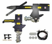 1963-1964 Impala Front And Rear Power Window Kit With Ftfg Switches For Door