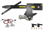 1961 Gm Impala 2dr Front Doors Power Window Kit With Nu-cranks Switches