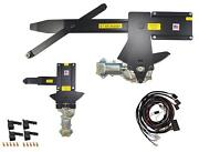 1961 Impala Front And Rear Power Window Kit W/ Black Illuminated Switches For Door