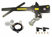 1955 2nd Series-1959 Truck Front Power Window Kit With Ftfg Switches For Door