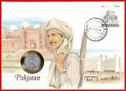Pakistan 10 Paise 1974 Coins Cover Stamp Top
