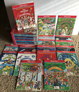Fisher Price Little People Big Book Time Life 89 Lot Of 17 Books And Activity Gui