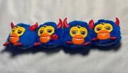 Hasbro Furby Party Rockers 2012 Blue And Yellow With Devil Horns