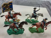 Britains Toy Soldiers Swoppet Civil War Mounted