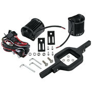 Tow Hitch Mounting Bracket And 4'' Led Work Lights Road Lighting For Trailers