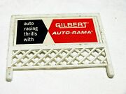 American Flyer 1960and039s Vintage Gilbert Billboard From The All Aboard Train Set