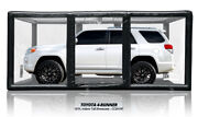 Carcapsule Showcase 18and039 Indoor Tall Black Ccsh18t