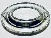 Magnificent Antique Wm Rogers Silver Co. Vegetable Dish Bowl With Covered