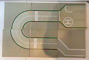 6 Vintage 1978 Lego Base Plates Roads And Streets