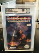 Ironsword Wizards And Warriors Ii Nintendo Entertainment System, 1989 Vga 80 Nm