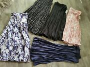 New Lot 5 Womens Plus Size Skirts Pleated Skirt Womens 3x Womens 22 All Colors