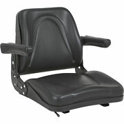 A And I Universal Lawn Mower Seat - Black, Model V-930