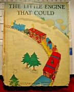 The Little Engine That Could Early Edition Dust Jacket Ad Variant No Book Inc