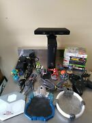 Xbox 360 Disney Infinity/ Kinect Mega Bundle W/ Controller And 11 Games Tested