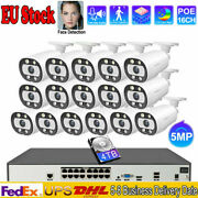 Cctv Camera System Network 16 Channel Outdoor Two Way Audio Poe Ip Home Securtiy