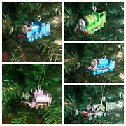 Nickelodeon Thomas The Train And Friends Christmas Ornaments Set Of 5