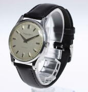 Schaffhausen Automatic Cal.852 Stainless Steel Analog Watch Antique Used