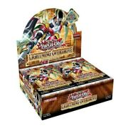 Yugioh Lightning Overdrive Factory Sealed Booster Box 1st Edition In Hand