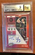 2018 Contenders Optic Red Trae Young Auto Rc Bgs 9 Rookie Autograph 🧊