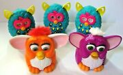 Mcdonalds Happy Meal Toys - Assorted Furby Toys - Lot Of 5 - 1998, 2013, 2013