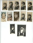Jackie Coogan Early Cigarette Cards Photos Child Actor Uncle Fester X 11