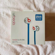 Beats By Dr. Dre X Sanrio Hello Kitty Collaboration Earphones Red Case F/s New