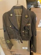 Us Army Medical Corps Uniform. Rank Is Tech Sergeant Post 1942