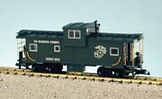 Usa Trains 12127 G U.s. Marine Corps Extended Vision Caboose 903