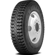 4 New Firestone Fd663 11r22.5 Load H 16 Ply Drive Commercial Tires