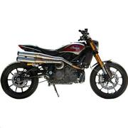 Sands Cycle 550-0950a Grand National 2-into-2 High-mount Exhaust System