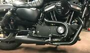 Sawicki Speed Shop 930-01217 2 Into 1 Pipe Exhaust System - Black