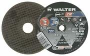 Walter 11l403 Zip Cutting And Grinding Cutoff Wheel [pack Of 25] 60 Grit 4 In.