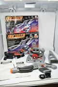 Vtg 1998 Toymax Arcadia Electronic Skeet Shoot Projecting Game System W/ 3 Games
