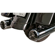 Harley S And Cycle Mk 45 Andeacutechappement Touring 17-20 Chrome Glisser Onand039 45 Avec