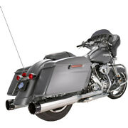 Harley S And S Cycle Mk 45 Andeacutechappement Touring 17-20 Chrome Glisser On 45 Avec